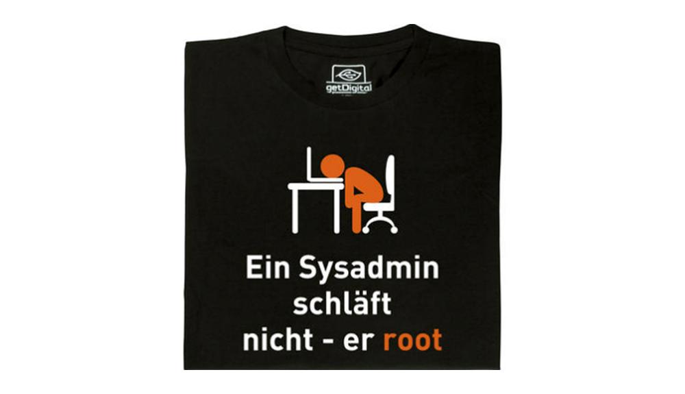 """Für alle, die gerade nur Bahnhof verstanden haben: Beim Betriebssystem Linux heißt der super user, der alle Rechte besitzt, root. Zufällig klingt dieses Wort genauso wie """"er/sie/es ruht"""" im Deutschen."""